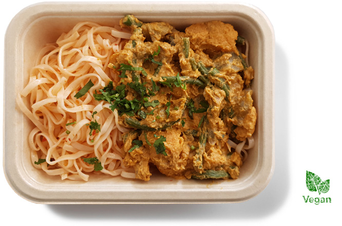 Thaise groentecurry